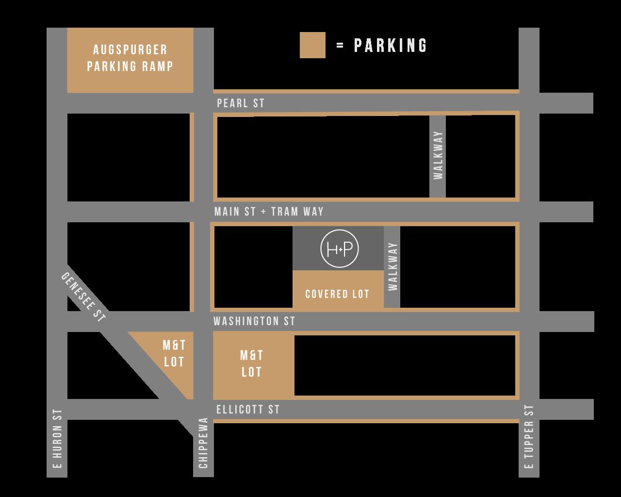 Buffalo Pizza Parking